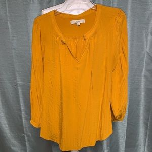 Loft long sleeve blouse EUC
